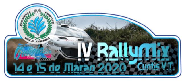 Placa Rallymix de Cuntis 2020