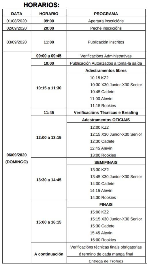 Programa Horario Magdalena 2020