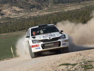 Nil Solans en el Rally de Lorca 2020
