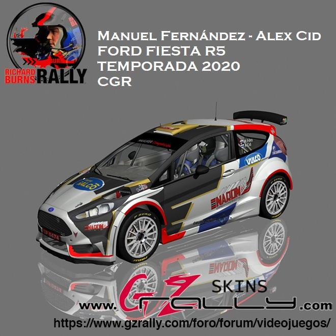 MANUEL FERNÁNDEZ - ÁLEX CID