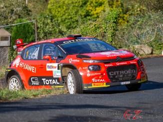 Pepe Lopez en el Rallye de Ferrol 2020