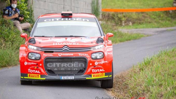 Pepe Lopez en el Rally de Ferrol 2020