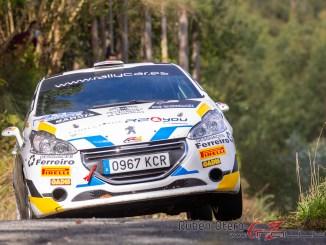 Perez - Miron en el Rally de Ferrol 2020