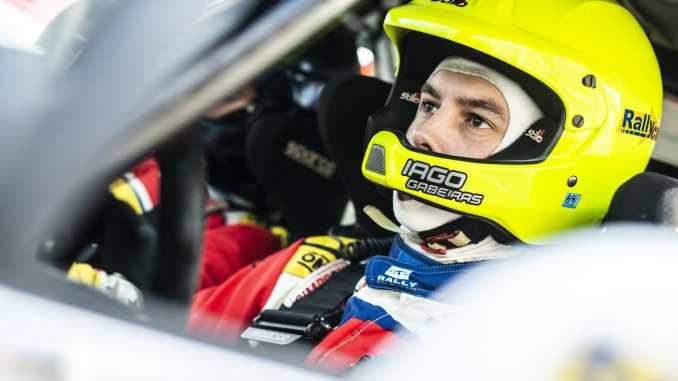 Iago Gabeiras en el Rallye de Ferrol 2020