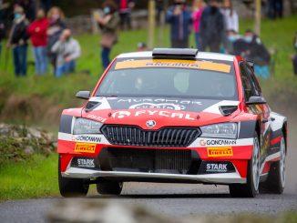 Victor Senra en el Rally San Froilan 2020