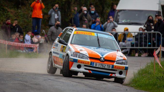Pablo Blanco en el Rally San Froilan 2020