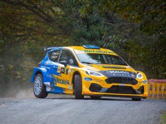 Oscar Palacio en el Rally San Froilan 2020