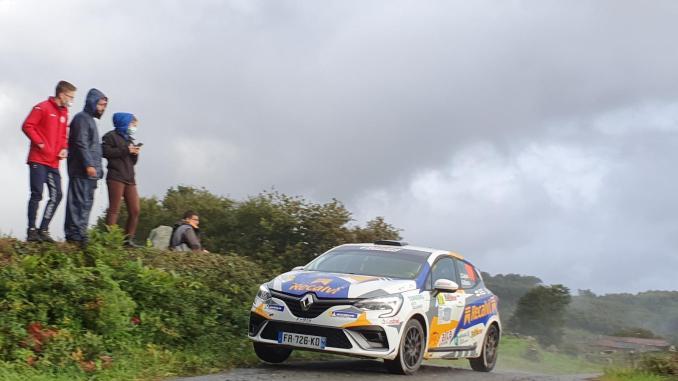 Jorge Cagiao en el Rally Rias Altas Historico