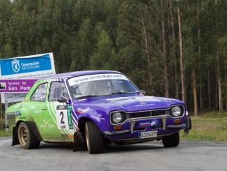 Francisco Lopez en el Rally Rías Altas Histórico 2020