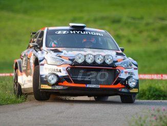 Ivan Ares en el Rallye Princesa de Asturias 2020