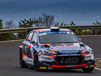 Ivan Ares en el Rally Islas Canarias 2020