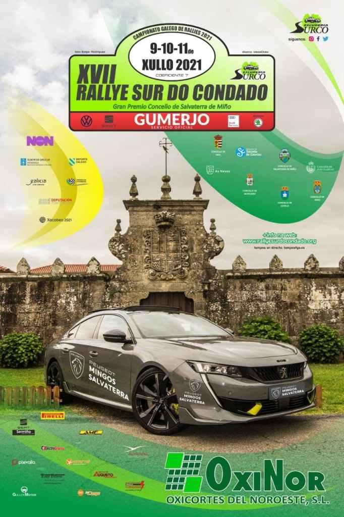 Cartel Rally Sur do Condado 2021