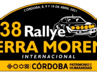 Placa Rally Sierra Morena 2021