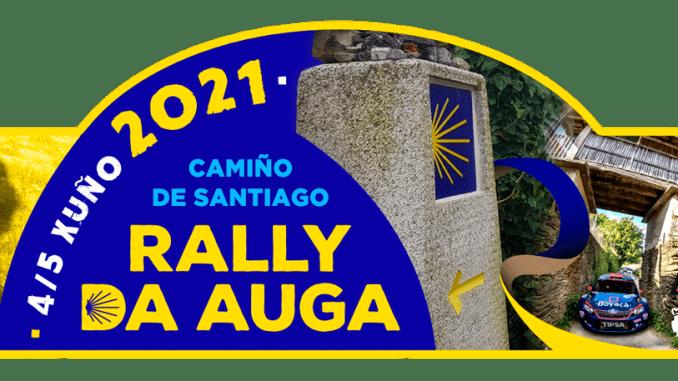 Placa Rally Terra da Auga 2021