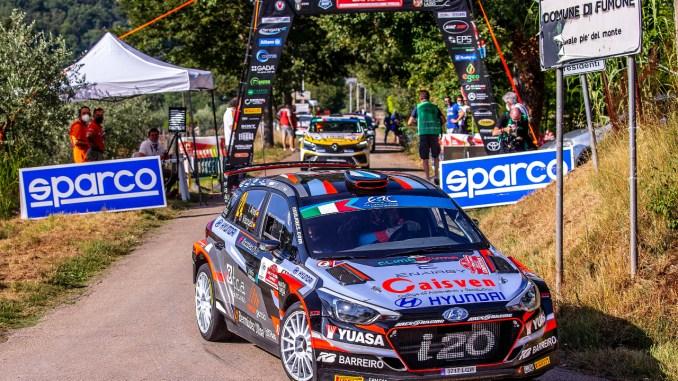Ivan Ares en el Rally Roma Capitale