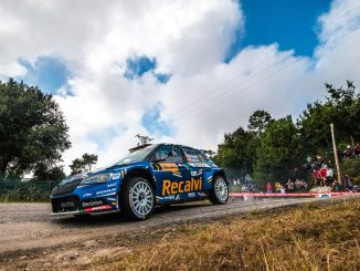 Jose Antonio Suarez en el Rally Rias Baixas 2021