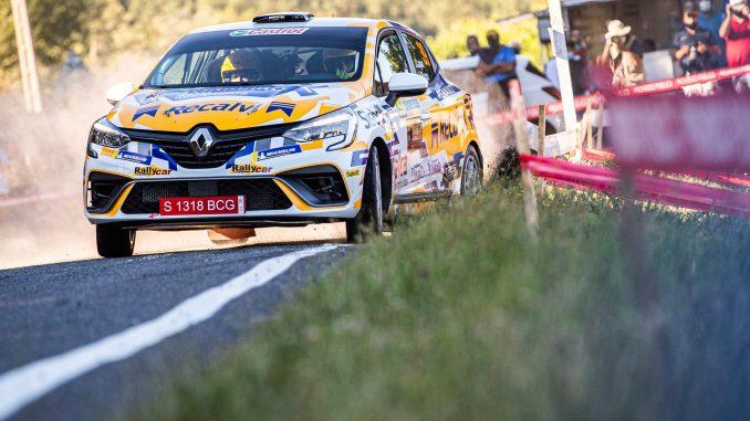 Victoria de Jorge Cagiao en el Rally de Ourense