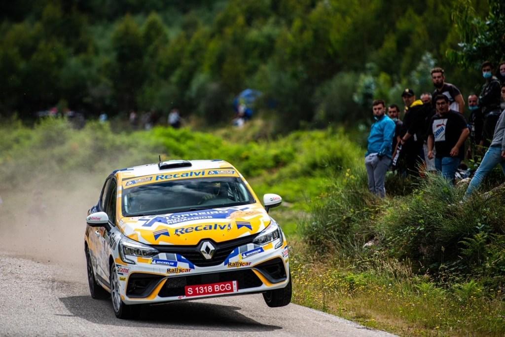 Jorge Cagiao en el Rally Princesa de Asturias 2021