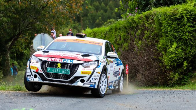 Roberto Blach en el Rally Princesa de Asturias 2021