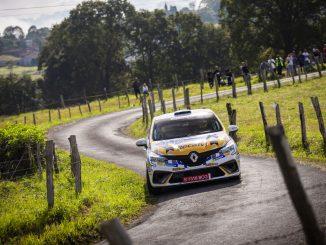 Cagiao vence en el Rally Princesa de Asturias