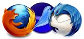 Mozilla Trio logo