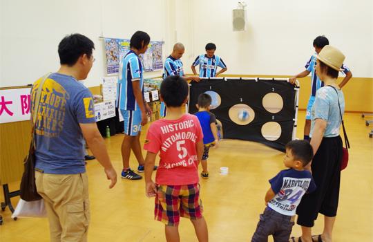FC大阪 8/2 大阪のプロスポーツチームが布施にやってくる!