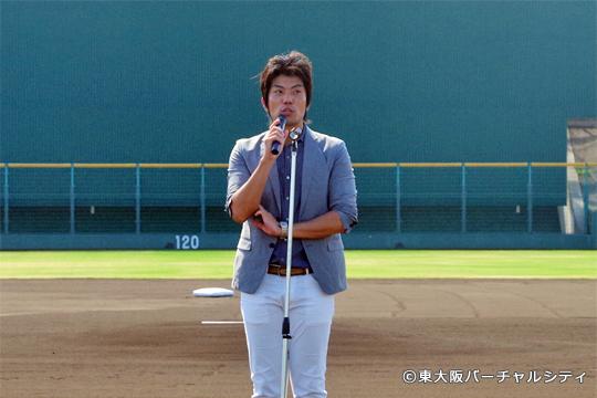 06BULLS球団代表 水永将太氏よりご挨拶