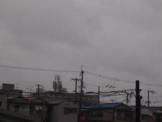 東大阪の雨