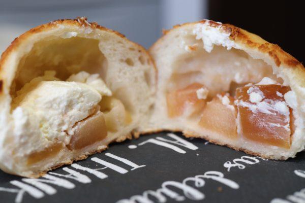 ポーム南3条店さんのりんごとクリームチーズ