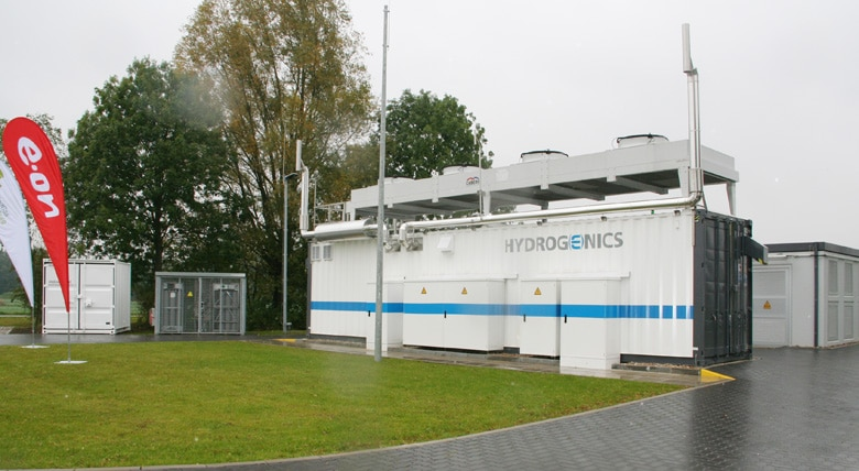 WindGas Project in Hamburg-Reitbrook in Operation › H2