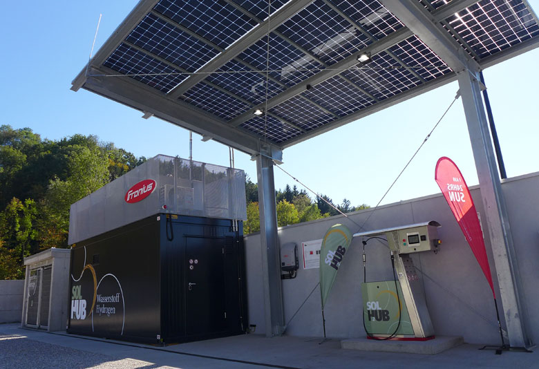 Fronius Starts Up Green Hydrogen Fueling Station › H2