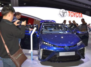 Toyota and its Mirai will be missing in 2019 at the IAA