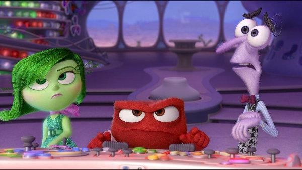 Dans la lutte entre peur et colère, c'est souvent Colère qui finit par prendre le contrôle… image Disney/Pixar