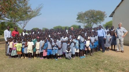 Children of primary school Rakombe, Siaya.