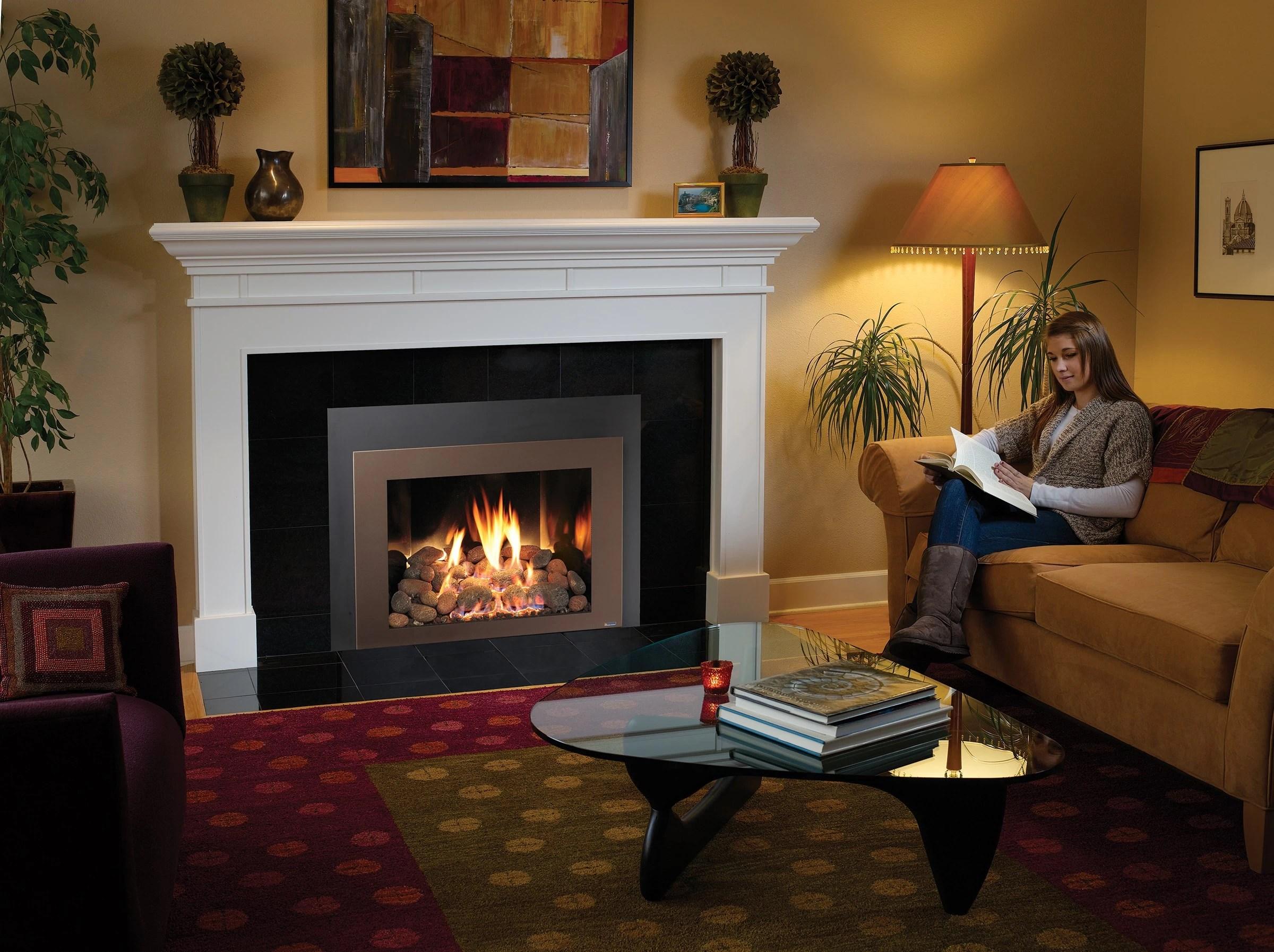 Fireplace Xtrordinair 616 Gsr Gas Fireplace Insert H2oasis
