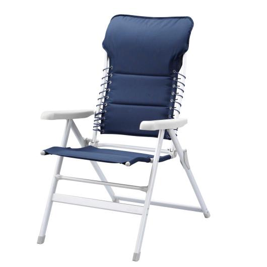 accessoire et materiel du bateau au camping campart travel chaise novara en aluminium et polyester