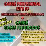 Curso RITE y Gases Fluorados