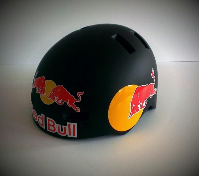 Red Bull Bell Fraction Skate Helmet