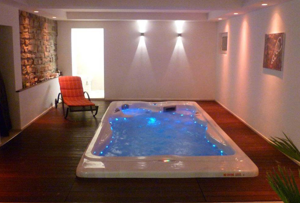 Aquatic Exercise At Home With The H2X Swim Spa