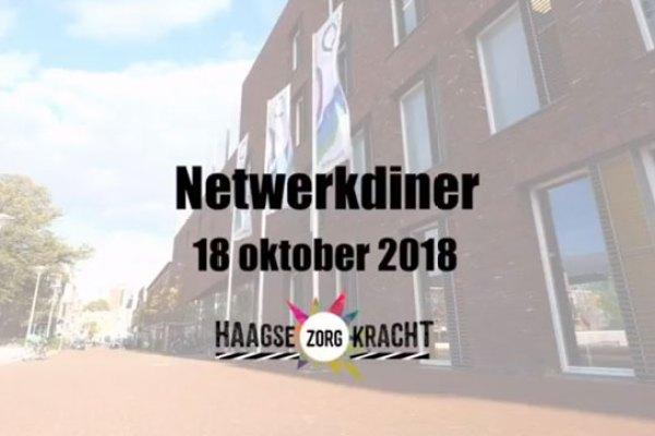 Geslaagd 2e netwerkdiner Haagse Zorgkracht