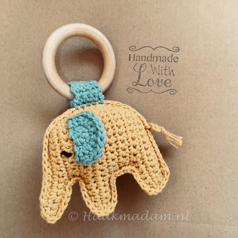 bijtring rammelaar olifant