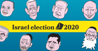 Latest polls: Israel election 2021