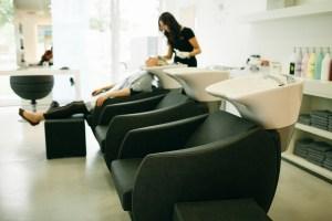 Haargenau Salon Becken