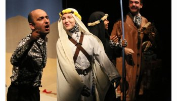 Lawrence of Arabia. Fotografie: Sanne Peper.Lawrence of Arabia. Fotografie: Sanne Peper.