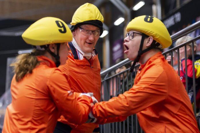 Blijdschap bij eerdere wedstrijden van 3 van de 4 Haarlemse sporters| Foto: Special Olympics.