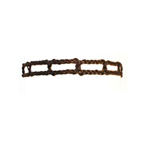 Haarband aus Haar - schwarz