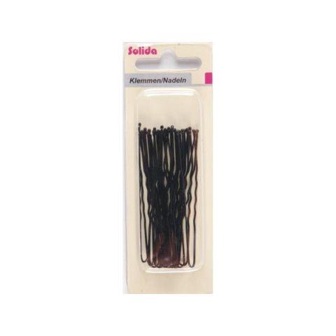 Schwarze Haarklemme (Inhalt: 20 Stück)