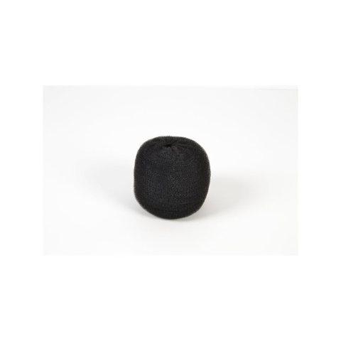 Knotenringpolster schwarz groß