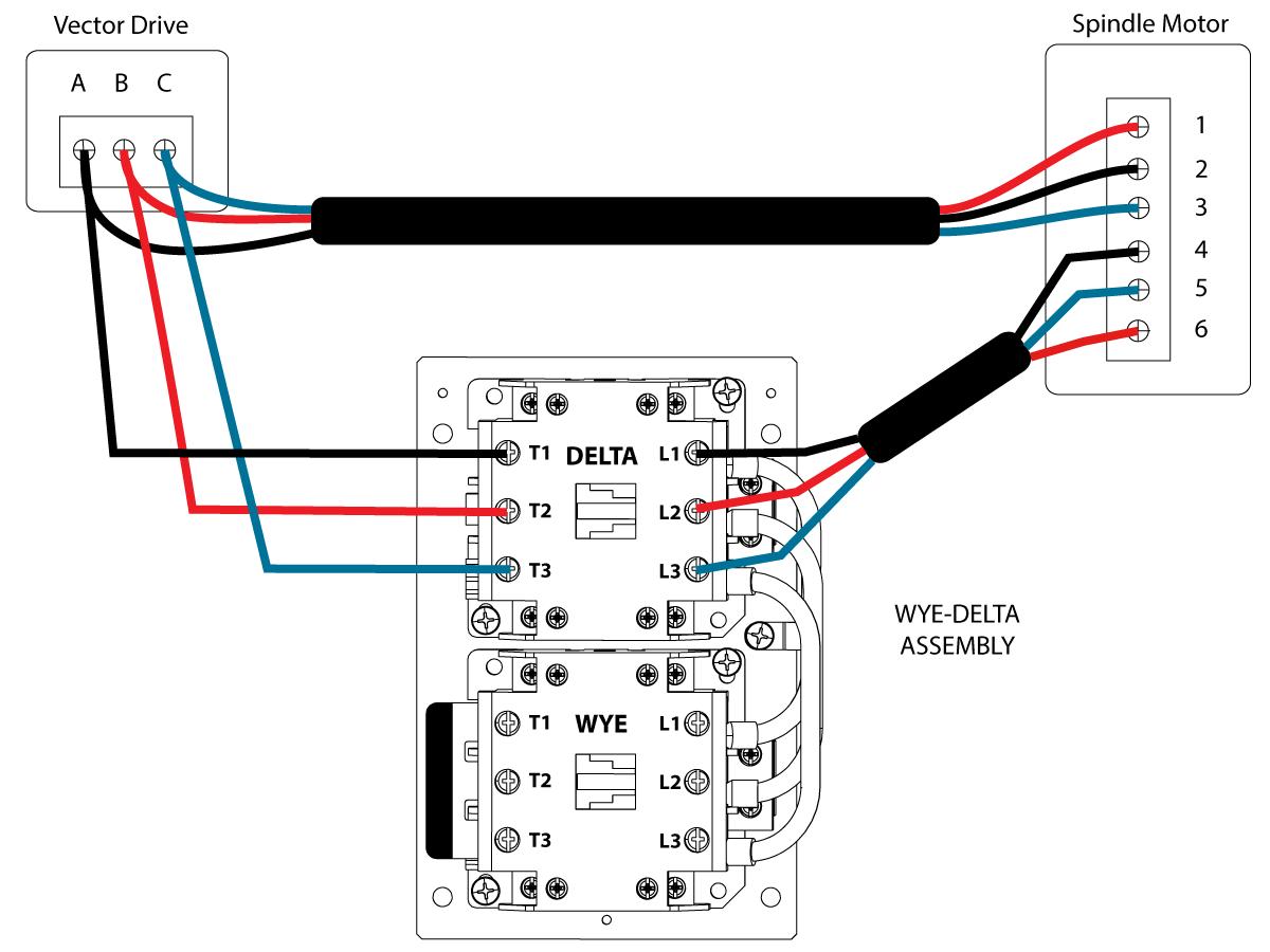 Y Vs Delta Motor Wiring
