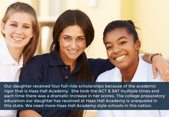 Friends of Haas Hall Academy
